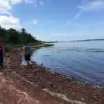 Shoreline Clean-up around St St Peter's Bay