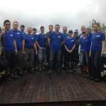 Elanco volunteers planting trees