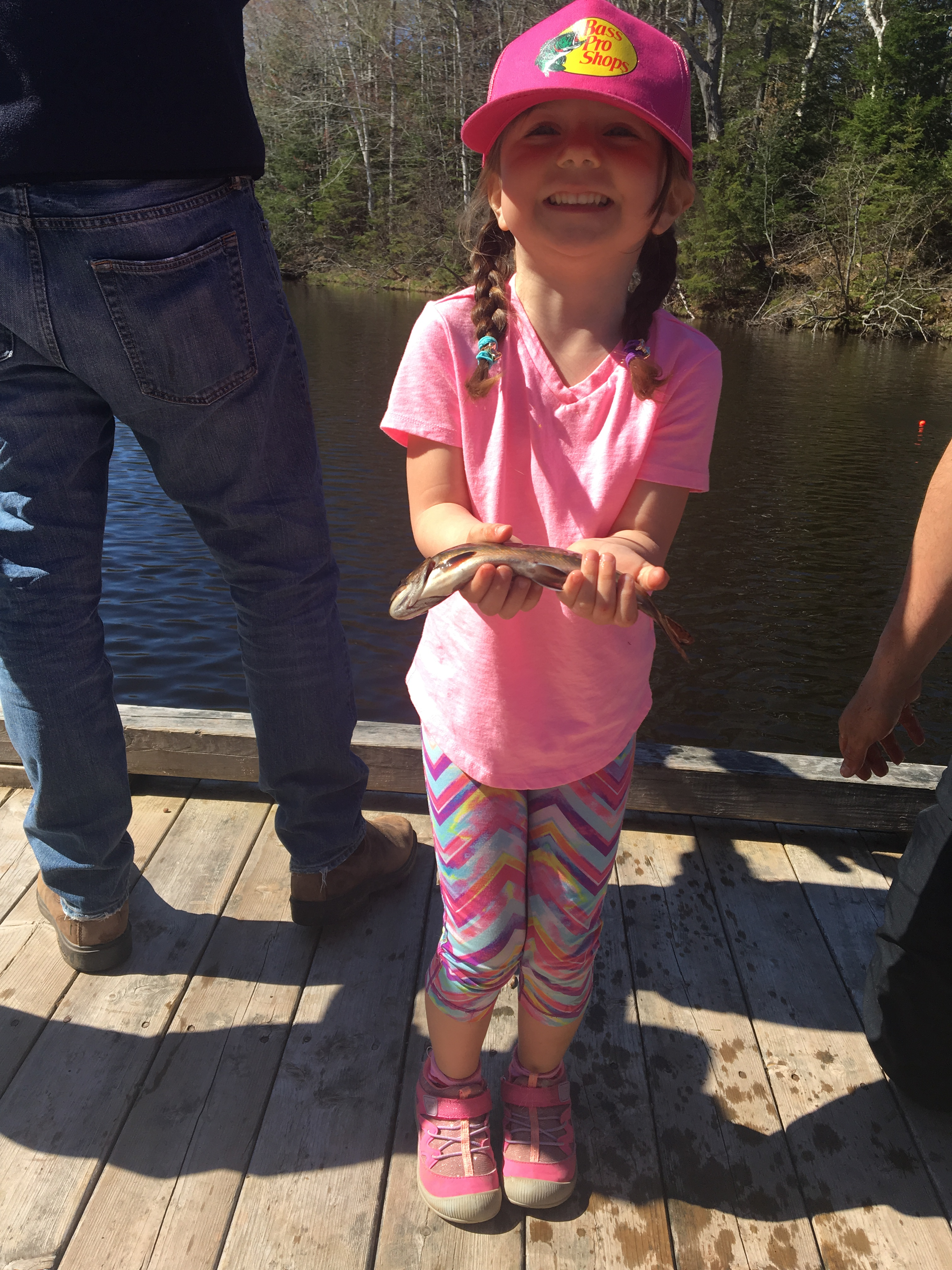 Family Fishing Day at Mooney's Pond